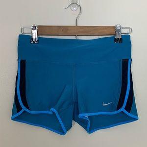 Nike • Blue Yoga Athletic Workout Shorts